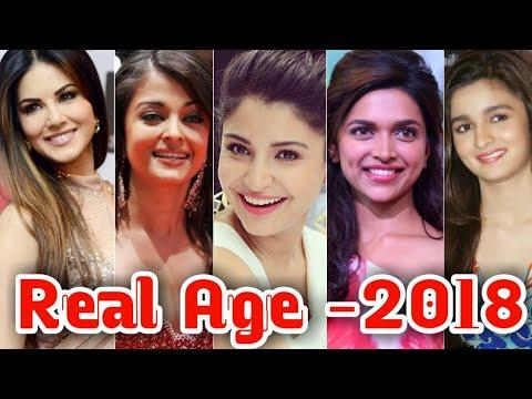 Download Real age of Bollywood actress 2018 - Deepika Padukone - Sunny Leone - Priyanka Chopra