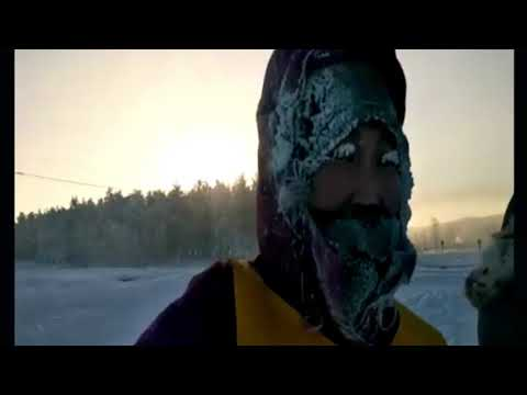 Runners Compete in World's Coldest Race at -52 Degrees Celsius