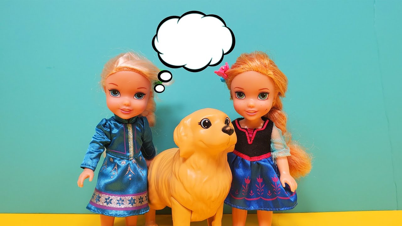Do you remember ?  Elsa & Anna toddlers