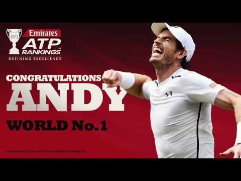 Andy Murray New World No 1