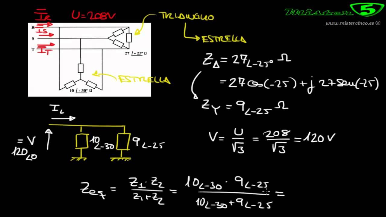 Circuito Significado : Circuito rst corriente trifásica estrella triángulo mistercinco