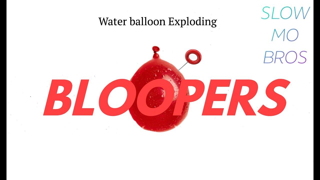 Water Balloon Bloobers