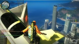 Just Cause 2 Best Stunts Compilation