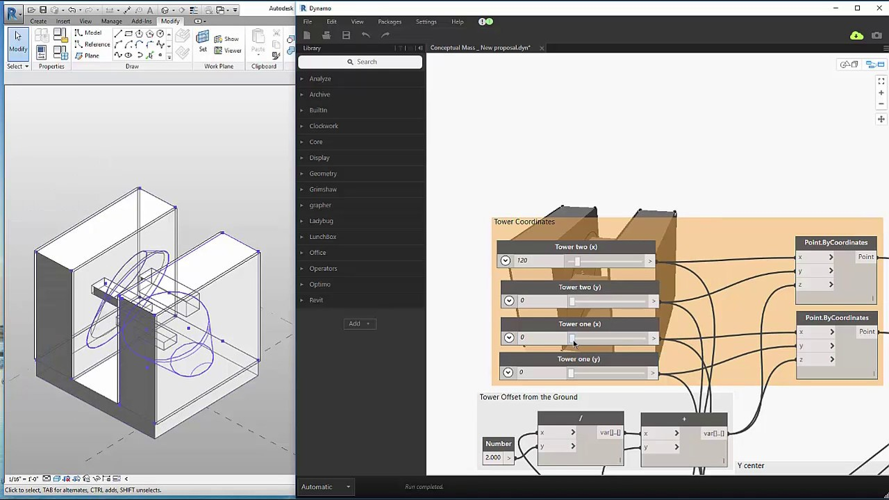 Visual programming in bim transforming the emerson for R language architecture