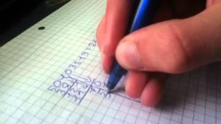 Schriftliches dividieren mit Kommazahlen - Mathematik einfach erklärt