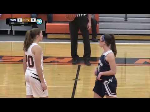 Winthrop vs Beverly Girls High School Basketball