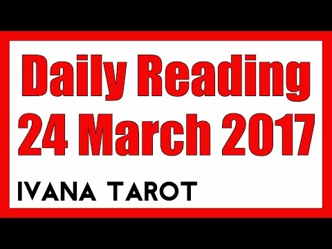 ❤️ FOR YOUR HIGHER GOOD Daily Reading for 24 of March 2017