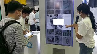 이색 무인 자판기 EV 트렌드 코리아 디앤에이모터스(대…