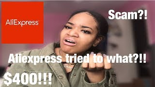 This Aliexpress Company Tried to Scam me!! + proof