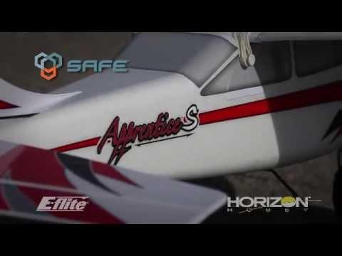 E-flite Apprentice S 15e RTF Rc Plane with SAFE Technology