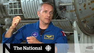 Russia hosts Canadian astronaut David Saint Jacques