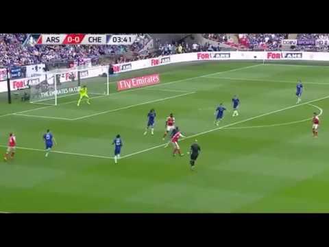 Arsenal vs chelsea (2-1) all goal&high lights  27/5/2017