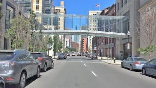 Driving Downtown - Theater District - Boston USA
