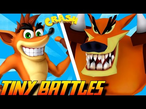 Evolution of Tiny Tiger Battles in Crash Bandicoot Games (1996-2016)