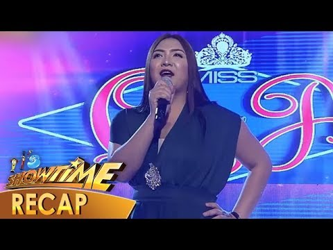 It's Showtime Recap: Miss Q & A contestants in their wittiest and trending intros - Week 37