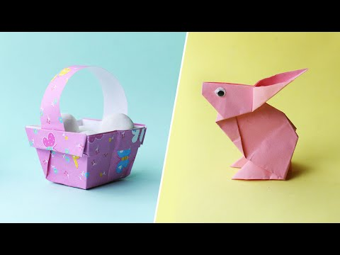 Easy Easter Origami for Kids - Red Ted Art - Make crafting with ... | 360x480