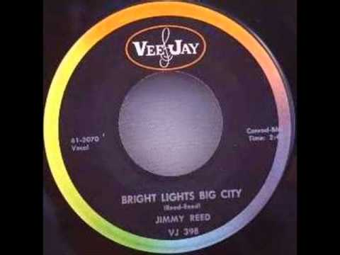 JIMMY REED   Bright Lights, Big City   AUG '61