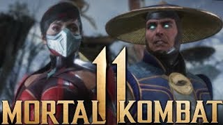 Mortal Kombat 11 - Skarlet Vs Raiden Exclusive Gameplay! Brutalities & Fatality 1080p HD