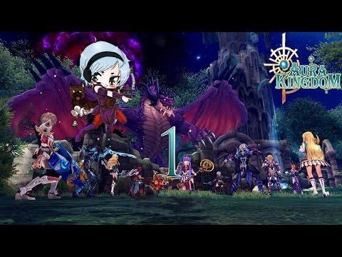 Aura Kingdom - Battle Bow Episode 1 Port Skandia