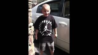 5 year old rappin lil Wayne