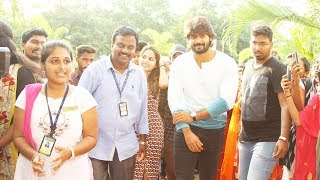 Guna 369 Movie Promotion In Vignan College Vishakapatnam Karthikeya NewsQube
