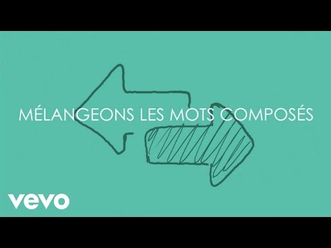 Aldebert - Les mots mélangés [Video Lyrics]
