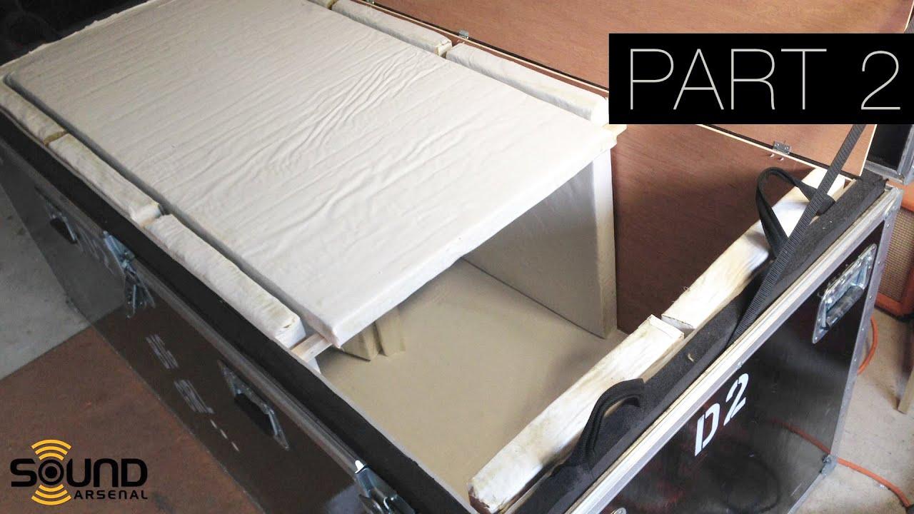 Diy Speaker Isolation Cabinet For Home Recording Guitars