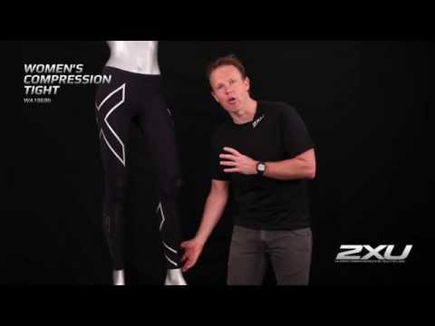 2XU Womens Compression Tights - ProTriathlon