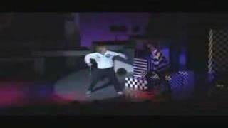 Yoshuharu and Yuu dance off from the musical Bambino. -I'm not sure...