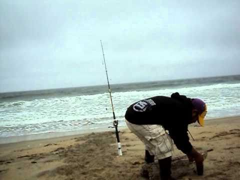 Fishing at moss landing beach california youtube for California out of state fishing license