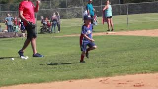 i9 Sports 352- South Wilmington: T-Ball Highlights (Oct. 13)