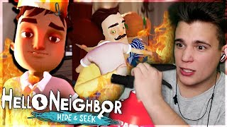 POŻAR! - Hello Neighbor: Hide and Seek #3