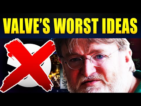 Top 10 Worst Decisions Ever Made By Valve