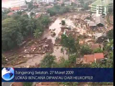 Lokasi Bencana Tanggul Situ Gintung Tangerang Youtube