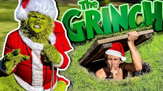 Used Secret Bunker To Hide From The Grinch! (Hide N Seek)