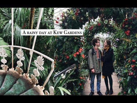 [Vlog] A Rainy Day At Kew Gardens