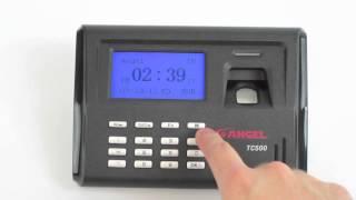 tc500 time clock instructions