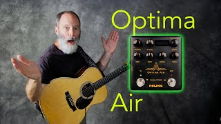 NUX Optima Air: Make a Crappy Acoustic Guitar Pickup Sound Good!