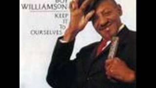 Sonny Boy Williamson Keep It To Yourself 1956