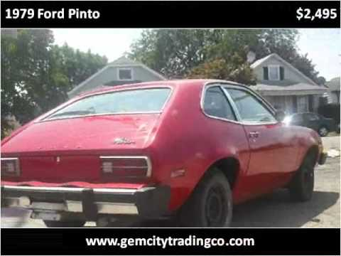 1979 ford pinto used cars dayton oh youtube. Black Bedroom Furniture Sets. Home Design Ideas