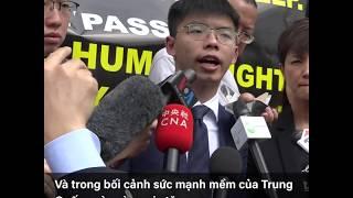 Joshua Wong trả lời phỏng vấn VOA Tiếng Việt (VOA)