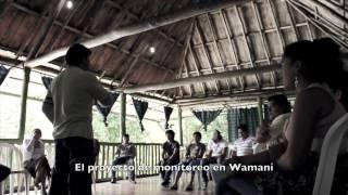 Monitoreo ambiental en la comunidad Kichwa Wamaní
