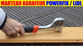 marteau agrafeur parkside lidl pabs 12 Hammer Tacker hammertacker