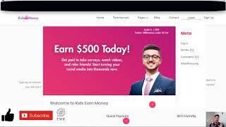 Kidsearnmoney.co/share/vpn619 | make money online