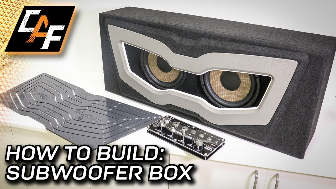 Building a Subwoofer Box with the ECO Tray and Carbon Template