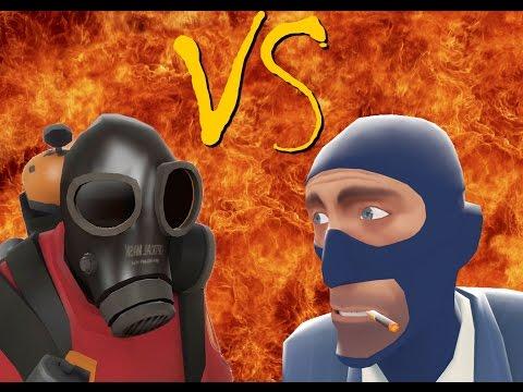 TF2 Bot Battle 21 : Pyro VS Spy