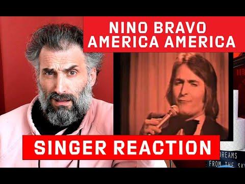 Nino Bravo - America America  - Singer Reaction