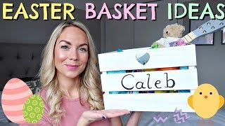 WHAT'S IN THE KIDS EASTER BASKETS  |  EASTER BASKET IDEAS 2018 | AD