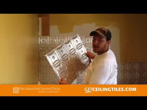 How to install an Aluminum Backsplash in your Kitchen