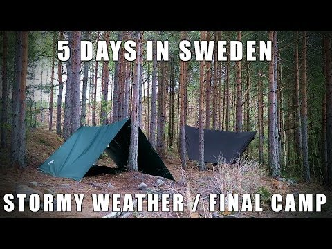 5 Days In Sweden - Stormy Weather & Final Camp